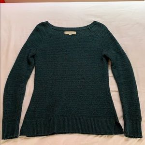 Blue woolen sweater